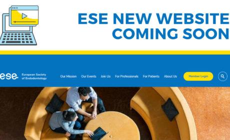 ESE presenterar ny hemsida