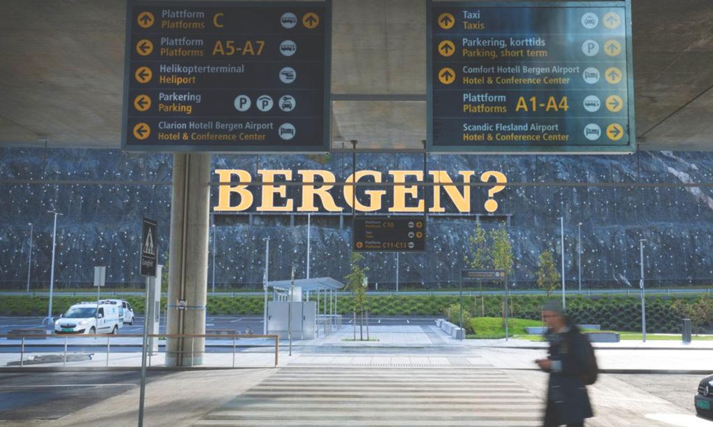Skandendo i Bergen 2022 skjuts upp