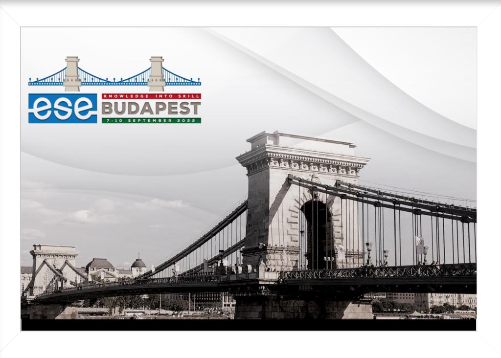 ESE Biennial Congress 2022 Budapest